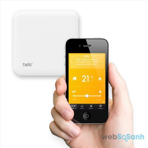 Ứng dụng điều khiển điều hòa bằng smartphone: ASmart Remote IR Ứng dụng điều khiển điều hòa bằng smartphone: tado